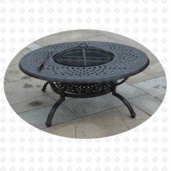 Tabella di alluminio del pozzo del fuoco della mobilia del giardino della mobilia Using carbone di legna (Alexander)