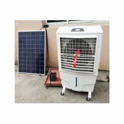 24V DC basse énergie 8000m3/H de l'air du ventilateur du refroidisseur d'air par évaporation avec Usabale solaire à des fins commerciales