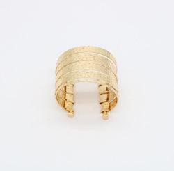 Mode bijoux métal or large Bangle
