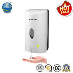1000ml de Grande Capacidade Touchless Mão Livre por Infravermelhos Móveis Sanitizer Dispensador de sabão dispensador de espuma para casa e áreas comerciais