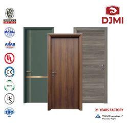 Промойте двери гостиница меламина кожу двери HDF фанера MDF ламинированные зал внутренних пожарных номинальной деревянный PU краски водонепроницаемый дом составные деревянные двери