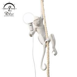 Destaques de resina simples lâmpadas para Bares Salas de estudo lustres macacos