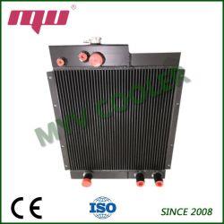 Placa de la barra de aluminio de aletas del radiador de agua personalizada Proveedor