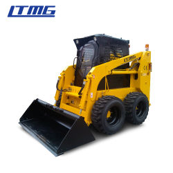 Ltmg Mini carregadeira Skid carregadeira Skid de Esteiras 500kg 700kg 850kg 1050kg 1500kg carregadora de direção deslizante para venda