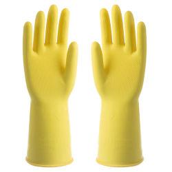 Luvas de borracha para uso doméstico para limpeza da cozinha