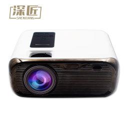 854*480 150inch 스크린 4 인치 휴대용 LCD LED 가정 극장 다중 매체 영상 영사기