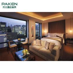 Resort Hotel Quarto Cinzas ou carvalho ou de madeira maciça de borracha mobiliário-Personalizada