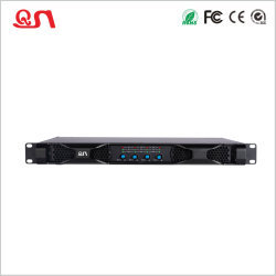 Classd 4 canais de áudio do amplificador de potência 1U PRO (D4012)