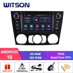 Autoradio des Witson Vierradantriebwagen-Kern Android-10 für Fahrzeug-videomultimedia-System BMW-manuelles Luft BMW-E90/E91/E92/E93