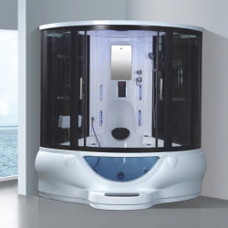 Meilleure vente Salle de bains Une personne salle de douche à vapeur compact