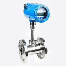Controlador de flujo de gas de aire de 2 pulgadas del medidor de flujo de gas térmica