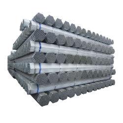 "DIP zincato a caldo/tubo pre-galvanizzato/Gi/tubo rotondo/ERW tubo in acciaio/BS1387/ASTM/1.5""/2""/tubo a effetto serra galvanizzato/zincato Tubo in acciaio"