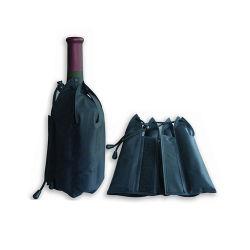 Mehrfachverwendbarer abkühlender Flaschen-Kühlvorrichtung-Beutel des Gel-Eis-Satz-/Wein für Förderung