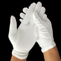حجم عادية أبيض قطن حياة بايسبول [بيلّيردس] قفّاز لأنّ مستهلكة