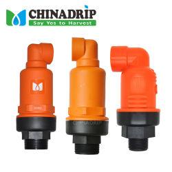 Material plástico y otros sistema de riego por goteo Riego de la válvula de liberación de aire