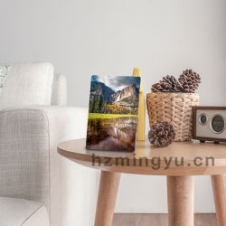 Het creatieve Witte Frame van de Foto van pvc met Tribune voor het Decor van de Familie