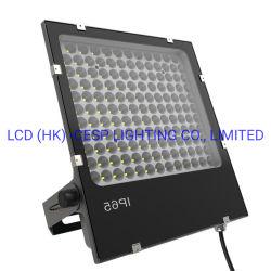 La fundición de luz LED 100W Reflector LED Accesorios para la generación de energía Solar iluminación luces de seguridad con 7 años de garantía Iluminación Exterior LED