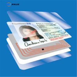 Holograma personalizados PC Policarbonato Folha de sobreposição de revestimento de PVC para cartões de PVC tornando