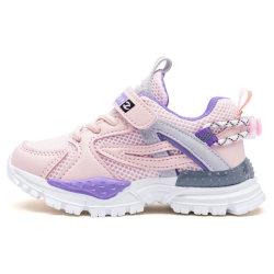 Lo sport respirabile di tennis del 2021 bambino di corrispondenza di nuovo della molla dei capretti dei pattini colore della maglia calza le scarpe da tennis dei ragazzi delle ragazze delle calzature di modo