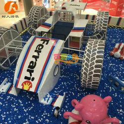Для использования внутри помещений Car-Theme чудесный парк развлечений для детей с бассейном шаровой опоры рычага подвески
