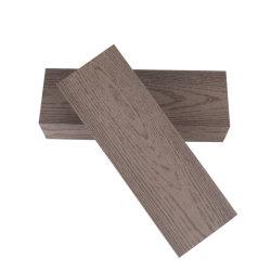 الصيانة المنخفضة سهولة التركيب WPC مقاومة الطقس صفائح خارجية مقاومة للماء منصة خشبية مركبة ذات أرضية بلاستيكية