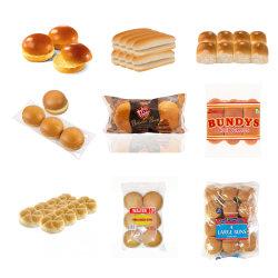 자동 스테인리스 스틸 흐름/포장재 포장 충진 밀봉 기계 비스킷/라면/빵/버거/빵/빵/핫도그/롤/음식/케이크용