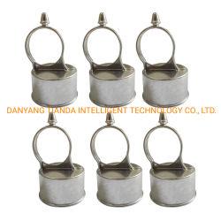 Staffe di montaggio tubi perno di passaggio telaio cancello in acciaio punto di iniezione ad alta tensione Accessori per recinzione hardware