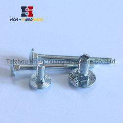 DIN603ステップボルトの円形のヘッド正方形の首のボルトまたはきのこのヘッドボルトコーチのボルト等級4.8、8.8 10.9、12.9/SS304、SS316/Gr. 2、5、8、A307のフランジのボルト、十六進ボルト