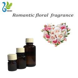 Odeur fraîche de longue durée romantique de l'huile de parfum de fleurs pour les détergents