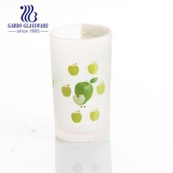 Autocollant de vente de l'impression de l'eau chaude de boire du thé et de la Coupe du verre givré Deaign mug personnalisé en verre de thé Go-035msy01016207/sg
