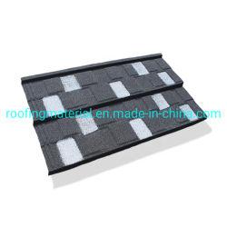 Los gránulos de color teja Recubrimiento del acero recubierto de piedra de la garantía de 50 años de la hoja de cubierta