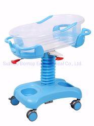Hospital Medical infirmière trois fonctions ABS et réglable en hauteur en position Trendelenburg lit bébé Lit avec matelas et mobilier de trolley de perfusion