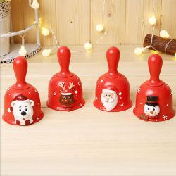 創造的なクリスマスの技術の休日の装飾は樹脂クリスマスのサンタの鐘の装飾をする