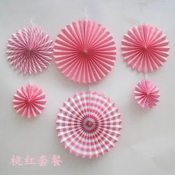 결혼식 룸 생일 파티 상점 월드컵 Windows 전시 Origami 팬 꽃 유치원 오프닝 훈장 종이 팬 꽃