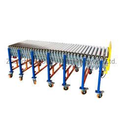 Personalizado de aço industrial tensor correia/transportador de corrente sistema transportador de rolos para transferência de paletes