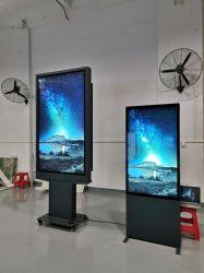 Kiosk interativo do Monitor de colagem óptica exterior