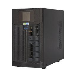 LCD 디스플레이를 가진 단일 위상 1kVA 24VDC 선 대화식 UPS
