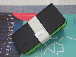 حقيبة غطاء محفظة Feellook من الجلد الفاخر من الموضة لـ Apple iPhone 5