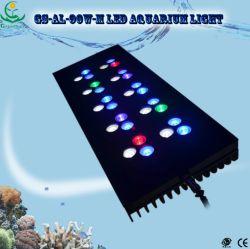 30X3w CREE LED à gradation lumière pour l'Aquarium de récif de corail (GS-D-90W)