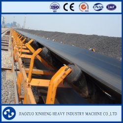 Estrazione mineraria, carbone, nastro trasportatore resistente della centrale elettrica