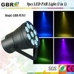 9X3w Stage RGB 3 in 1 LED PAR Washer Light / 웨딩 라이트 LED 파 캔