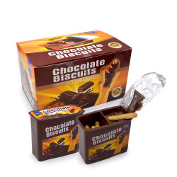 Box Packing Chocolate Biscuit Cup에 있는 12g