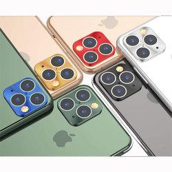 Het volledige Dekking Gekleurde Metaal maakte terug Beschermer van de Lens van de Camera van het Scherm van het Glas de Achter voor iPhone aan 11 11PRO en PRO Maximum