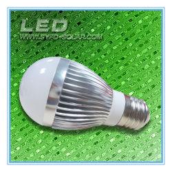高性能の太陽電池が付いているLEDの懐中電燈の球根