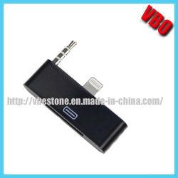 8 broche à l'adaptateur 30 broches pour iPhone 5 avec audio 3,5 mm (AD-395)