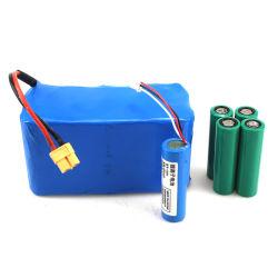 3,7 V personnalisé de 10,8V 12V 18V 20V 18650 Pack de batterie rechargeable au lithium-ion pour tout appareil rechargeable avec CE RoHS FCC