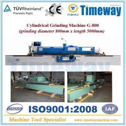 Rectificado cilíndrico Máquina y Máquina esmeriladora externo con 630mm/800mm de diámetro