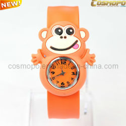 Jolie Monkey Slap Watch pour les enfants de don (AS1582)