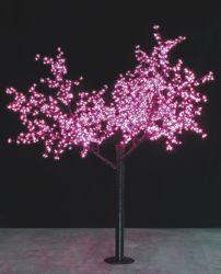 LED de 2,5 m de los cerezos en flor de la luz del árbol de las luces del árbol de Navidad