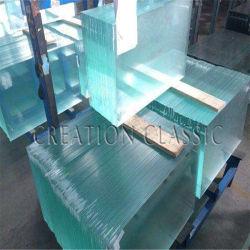 중국 건축 공사 건물 용 Ultral Clear 평면 유리